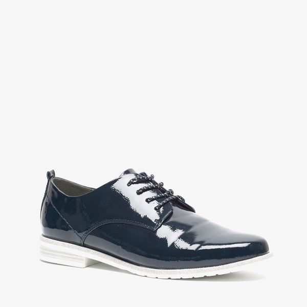 Chaussures Bleu Scapino Avec Dames Lacer pTlIMG2