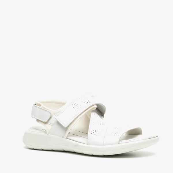 ECCO Soft 5 leren dames sandalen 1
