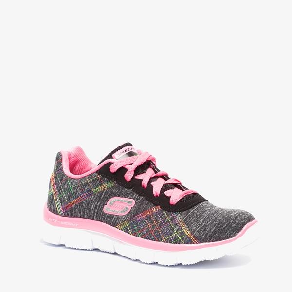 Skechers Flex Appeal meisjes sneakers 1