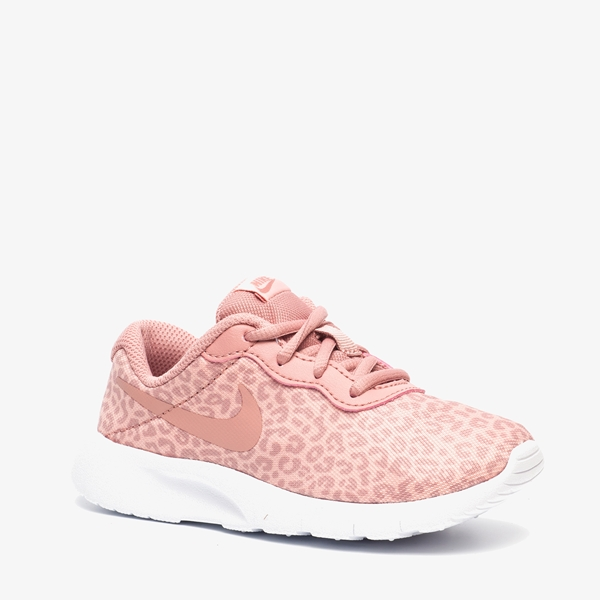 nike tanjun sneakers roze dames