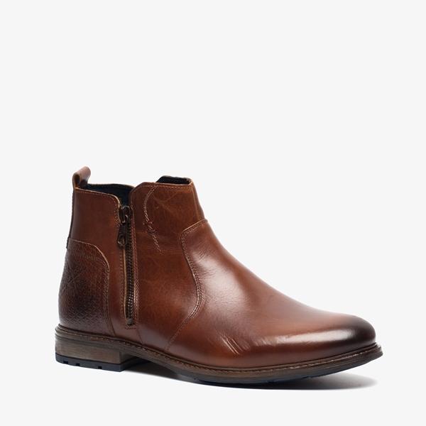 Output leren heren boots 1