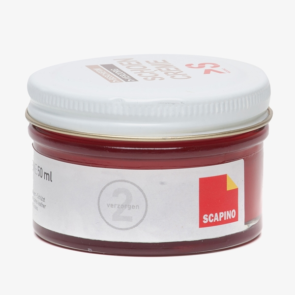Schoencreme rood 1