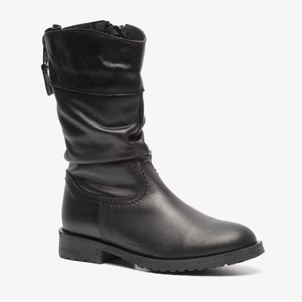 Groot leren meisjes laarzen online bestellen | Scapino