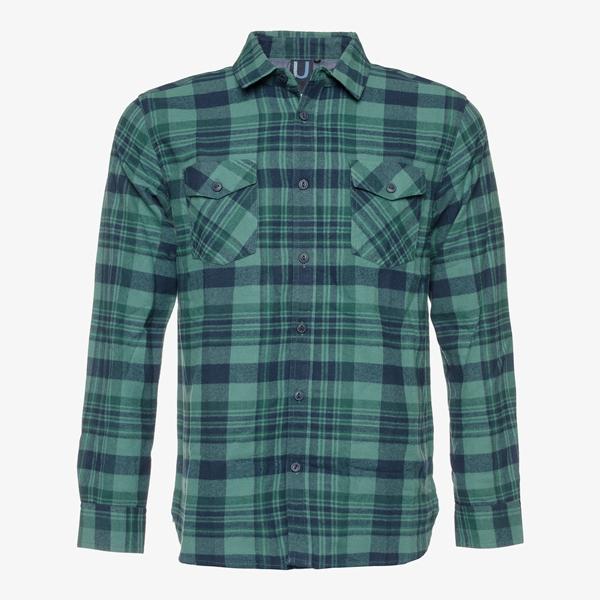 Groen Geruit Overhemd.Unsigned Geruit Heren Overhemd Online Bestellen Scapino