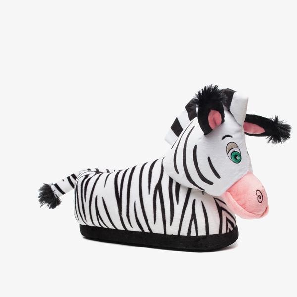 Thu!s dames pantoffels zebra 1