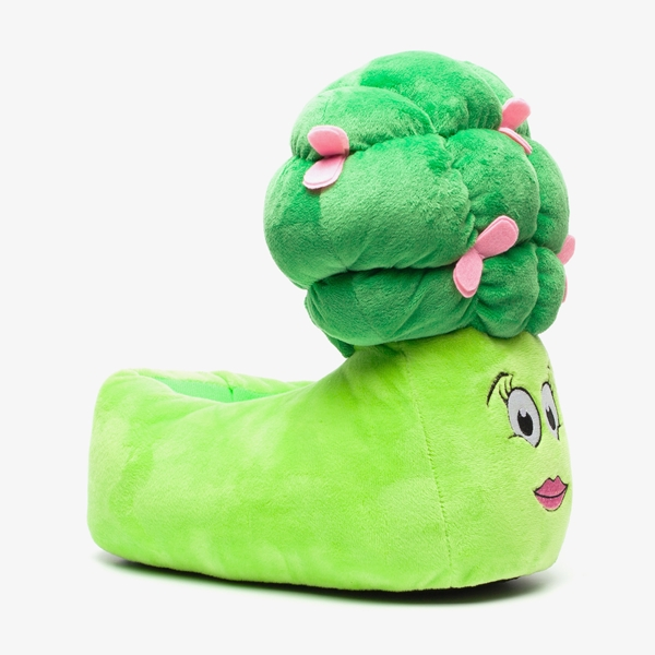 Thu!s dames pantoffels broccoli 1