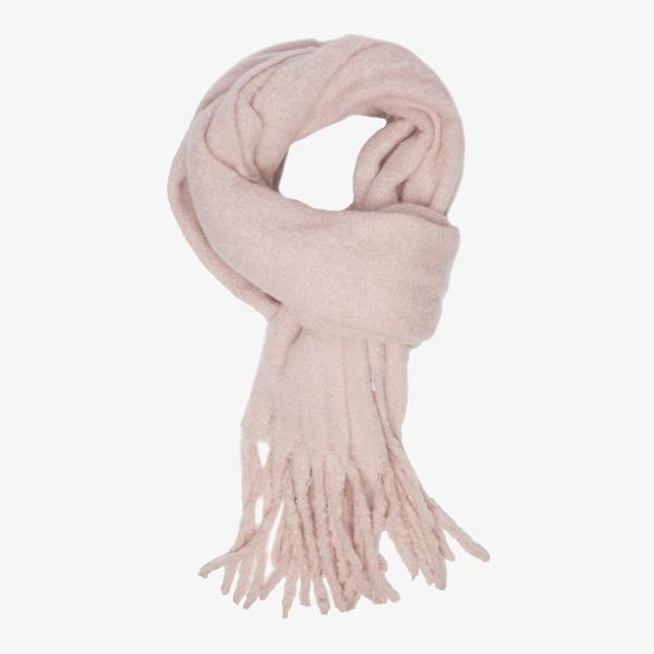 Roze dames sjaal 1