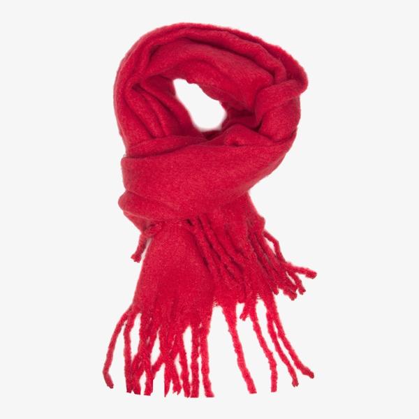 Rode dames sjaal 1