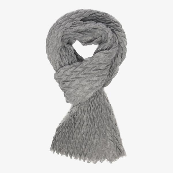 Grijze dames sjaal 1