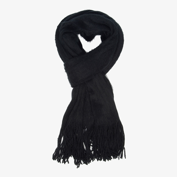 Zwarte dames sjaal 1