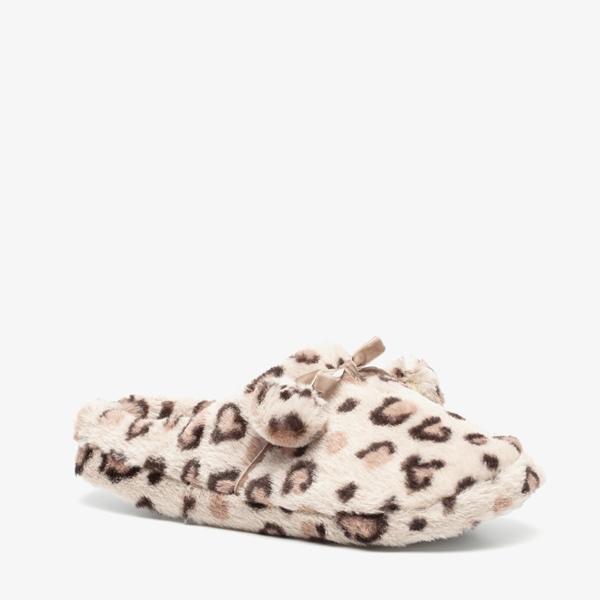 Thu!s dames leopard pantoffels 1