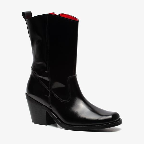 TwoDay leren dames western laarzen 1