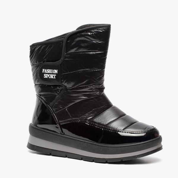 Zwarte snowboots 1