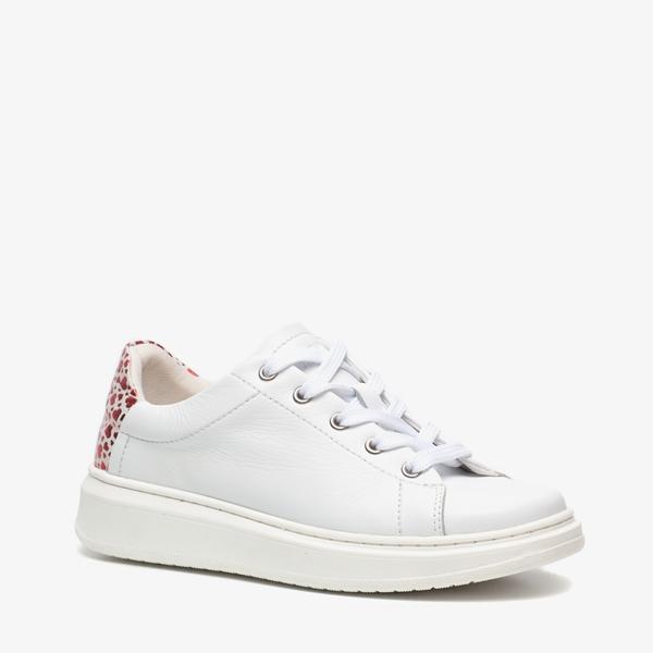 Groot leren meisjes sneakers 1