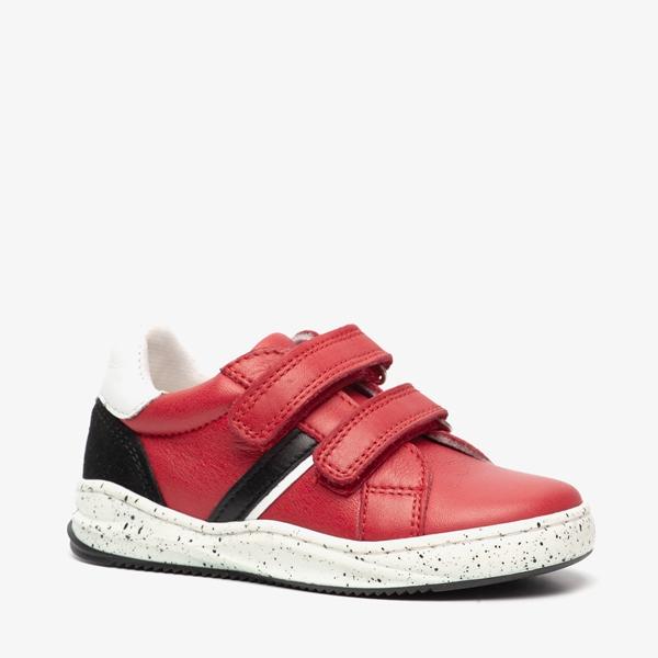 Groot leren jongens sneakers 1