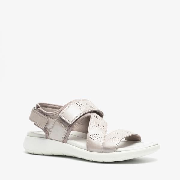 ECCO Soft 5 leren dames sandalen | Scapino.nl
