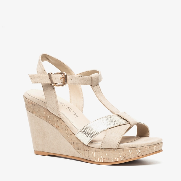 huge discount 85b44 733ff Blue Box dames sandalen met memory foam | Scapino.nl
