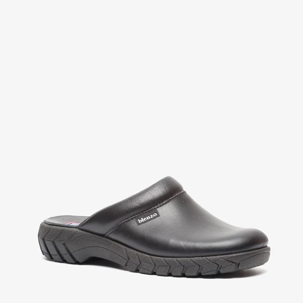 Blenzo heren leren pantoffels 1
