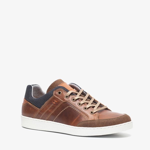 TwoDay leren heren sneakers 1