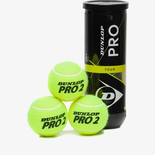 Dunlop Pro Tour tennisballen (3-can) 1