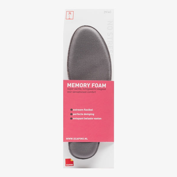 Memory foam inlegzolen 1