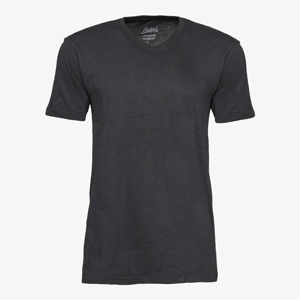 Unsigned heren T-shirt katoen 1