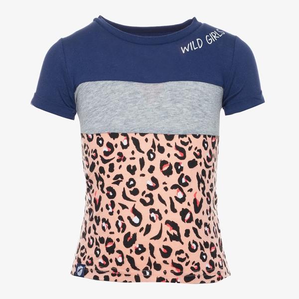 Ai-Girl meisjes leopard t-shirt 1
