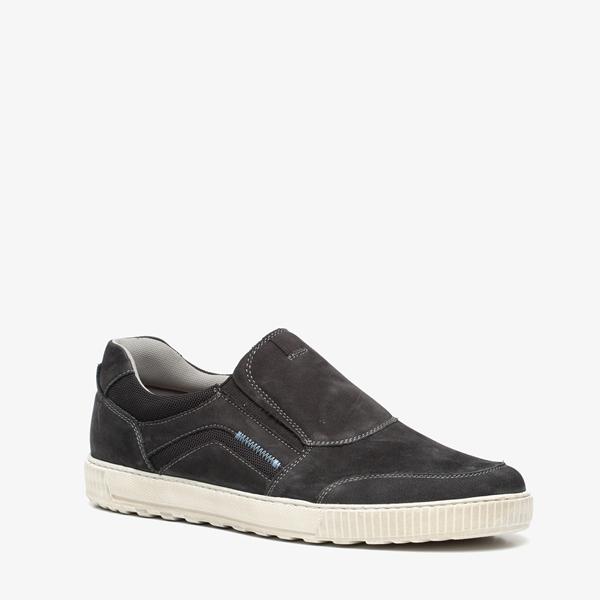 heren instappers suede sneakers
