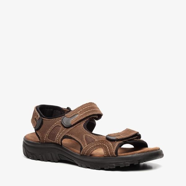 2456829bd9a Mountain Peak leren heren sandalen online bestellen | Scapino