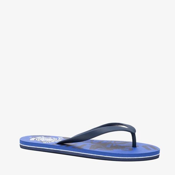 Blauw heren teenslippers 1