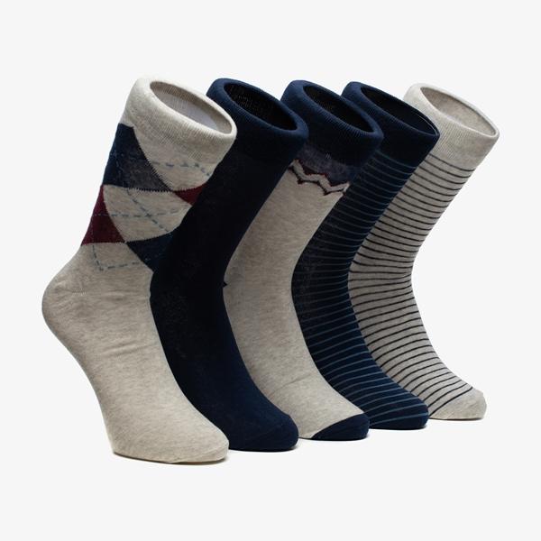 5 paar heren sokken 1