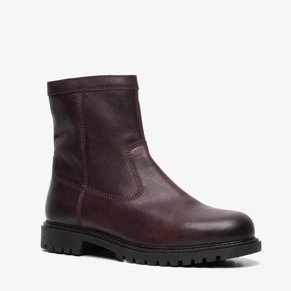 TwoDay gevoerde leren heren boots | Scapino.nl