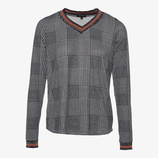 Jazlyn geruit dames shirt 1