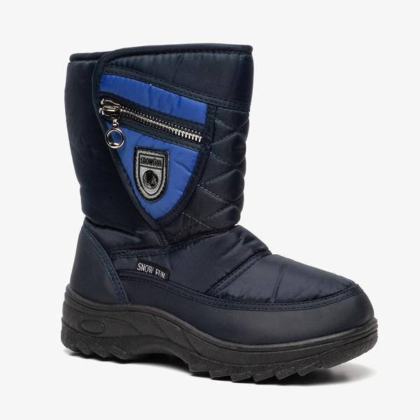 Blauwe kinder snowboots 1