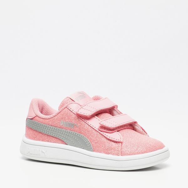 Puma Smash V2 Glitz Glam meisjes sneakers | Scapino.nl