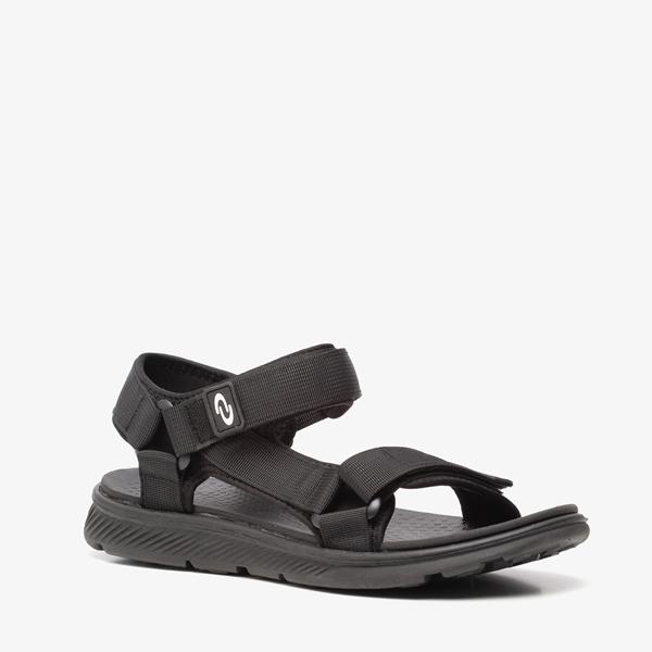 Heren sandalen zwart 1