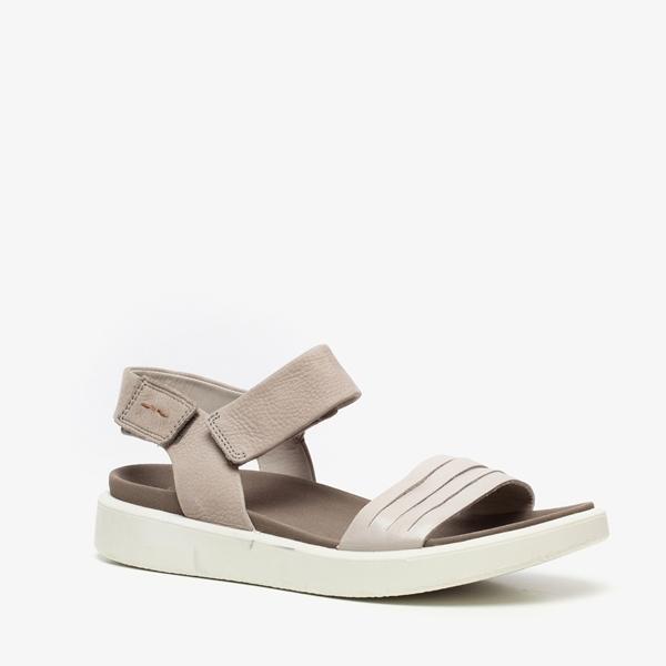 ECCO Flow T leren dames sandalen 1