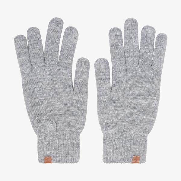 Dames handschoenen grijs 1
