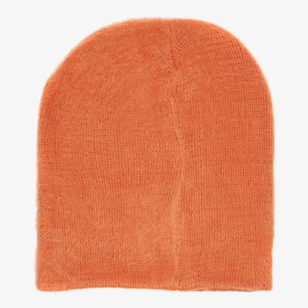 Dames muts oranje 1