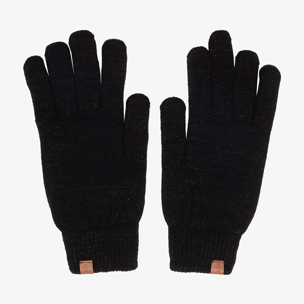 Dames handschoenen zwart 1