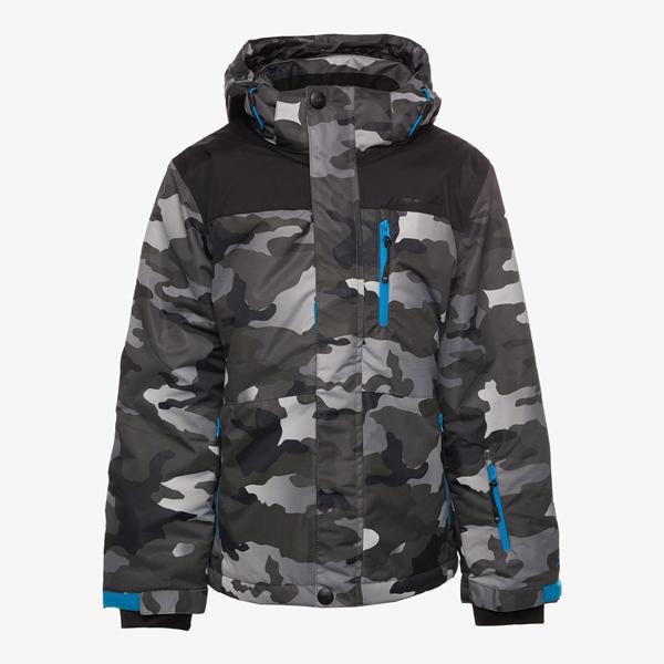 Mountain Peak kinder ski-jas met camouflage print 1
