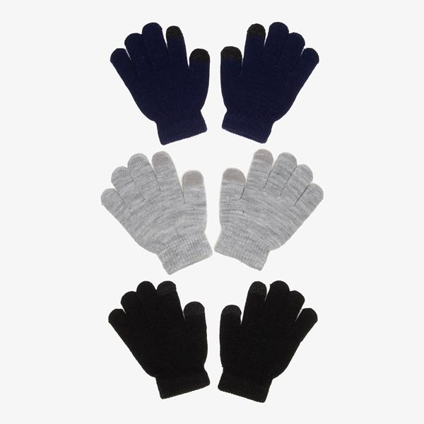 Kinder handschoenen 3-pack 1