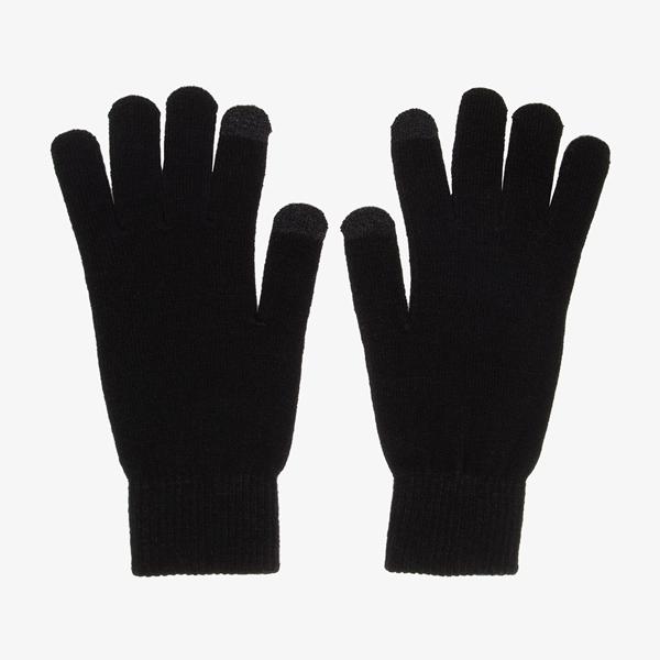 Heren touchscreen handschoenen zwart 1