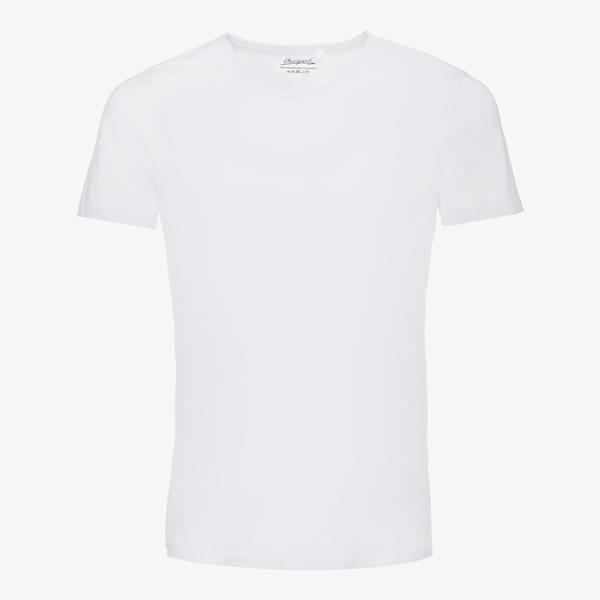 Unsigned heren T-shirt katoen/elastaan 1