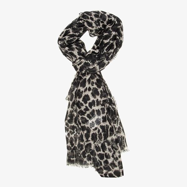 Dames sjaal met luipaardprint 1