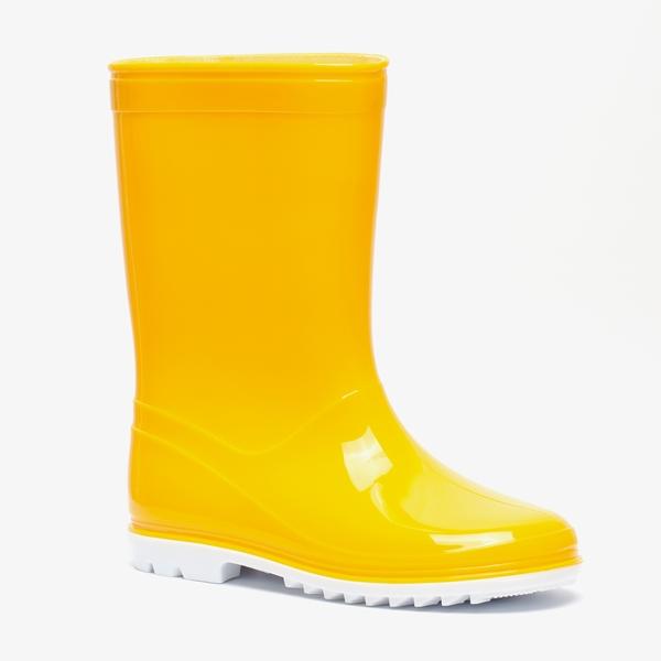 Kinder regenlaarzen geel 1