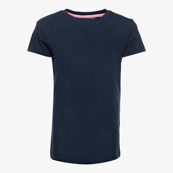 TwoDay meisjes basic T-shirt blauw 1