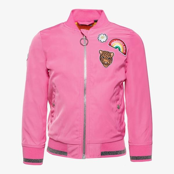 TwoDay meisjes bomber jas met emblemen 1
