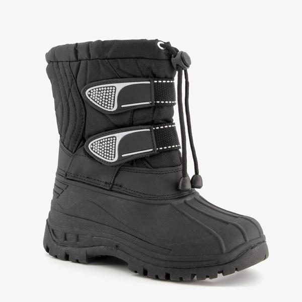 Zwarte kinder snowboots 1