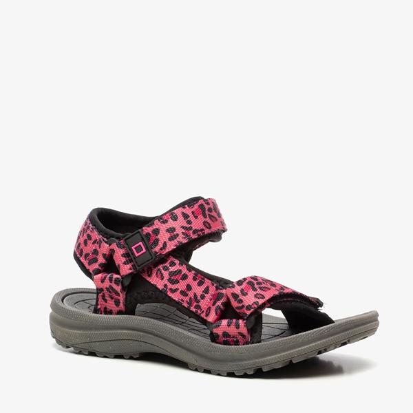 Blue Box meisjes sandalen met luipaardprint 1